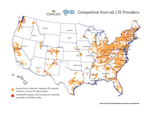 time warner coverage map comcast and time warner cable file applications and