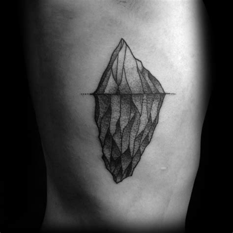 iceberg tattoo 50 iceberg tattoos for floating design ideas