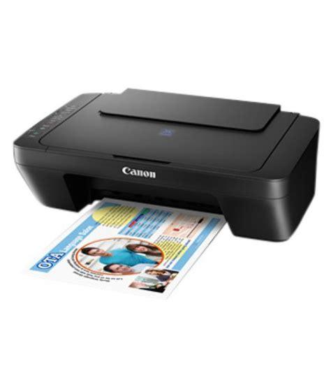 Printer Canon E470 canon pixma e470 multi function print scan and copy wireless ink efficient inkjet printer