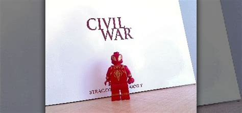 Lego Kw Captain America Civil War Costume Minifigure how to make spider s civil war costume on a lego minifigure with some paint 171 dolls plush