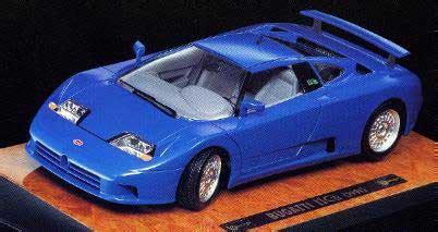 Diecast Miniatur 124 1991 Bugatti Eb 110 Bburago burago 3735 bugatti eb 110 1991 voiture bleu 1 18