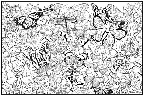 large coloring books for adults free printable many butterfly pictures to color for adults
