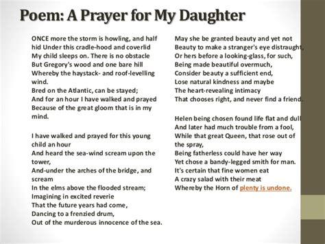 wb yeats sle essay summary a prayer for my custom paper service