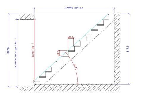Escalier Pas D Cal 1630 by Hauteur De Marche Escalier Maison Design Apsip