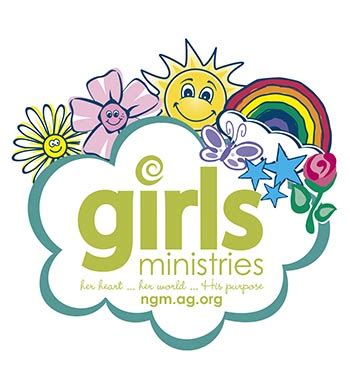 girls ministries window cling | my healthy church®