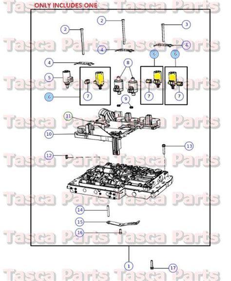 2005 chrysler 300 oil filter bolt seal install buy new oem mopar transmission case flange package dodge