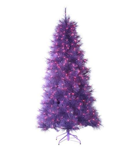 find the perfect purple christmas tree at the purple store