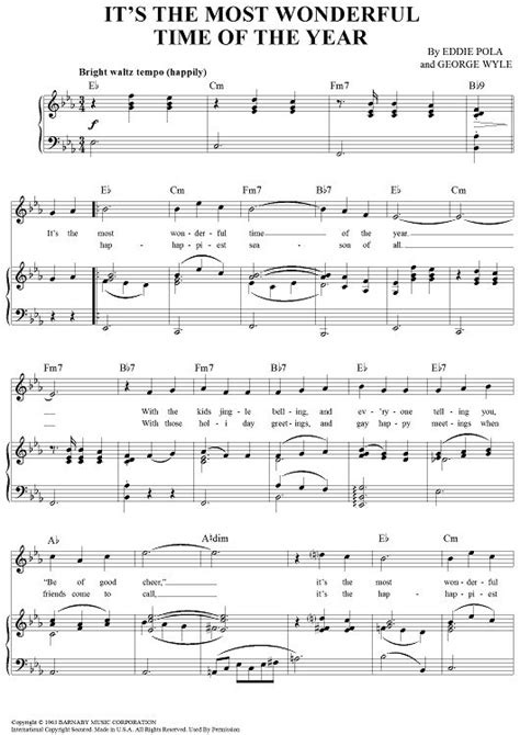 groundhog day bass tab it s the most wonderful time of the year sheet by
