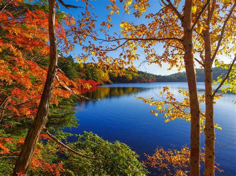 paisaje de otoo serie fondos de pantalla fotograf 237 a de paisaje estaciones del a 241 o oto 241 o lago bosques naturaleza