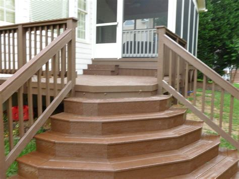 Deck Stairs Design Ideas Outstanding Deck With Stairs Design For Exterior Decorating Design Ideas Kitchentoday