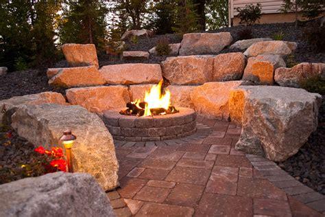 Spokane Fireplace by Spokane Coeur D Alene Backyard Pit Design