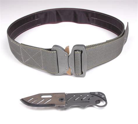 tactical belt knife crosstac d belt ii tactical belt