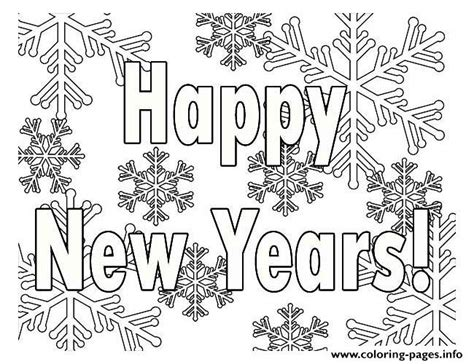 new year colouring posters printable new years coloring pages printable