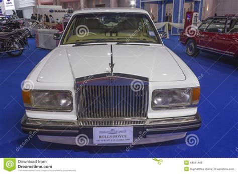 roll royce thailand rolls royce silver spur ii limo 1994 car editorial stock