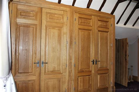Shelved Wardrobes by Bespoke Oak Wardrobes Shelved Shoe Cupboard Dixons