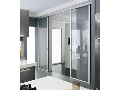porte cuisine vitre cloison type atelier sparation pour