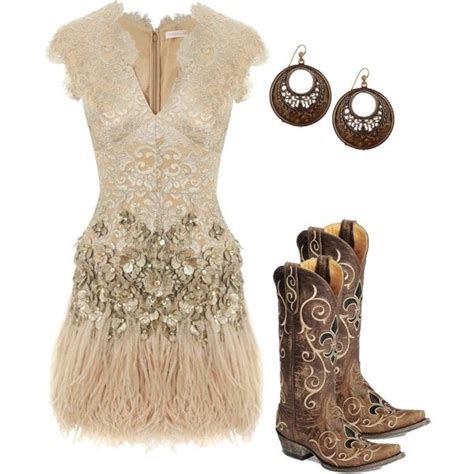 country dresses to wear with boots summer cowboy boots lace dress and cowboys