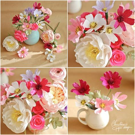 Paper Flower Designs - 25 best ideas about paper flower centerpieces on