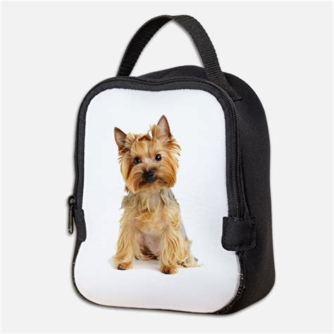 yorkie in a bag yorkie lunch bags totes insulated neoprene lunch bags