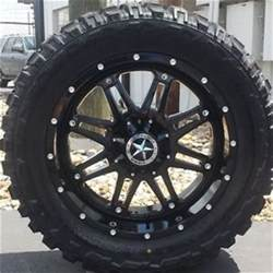 33 Tires For 20 Inch Rims 20 Quot Gloss Black Lonestar Outlaw Wheels 33 Quot Mt Tires Ford