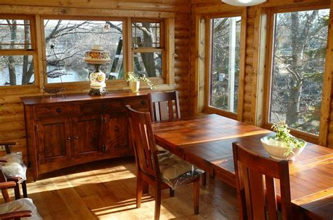 amish country kitchen amish furniture jacobydining table in customers home jpg