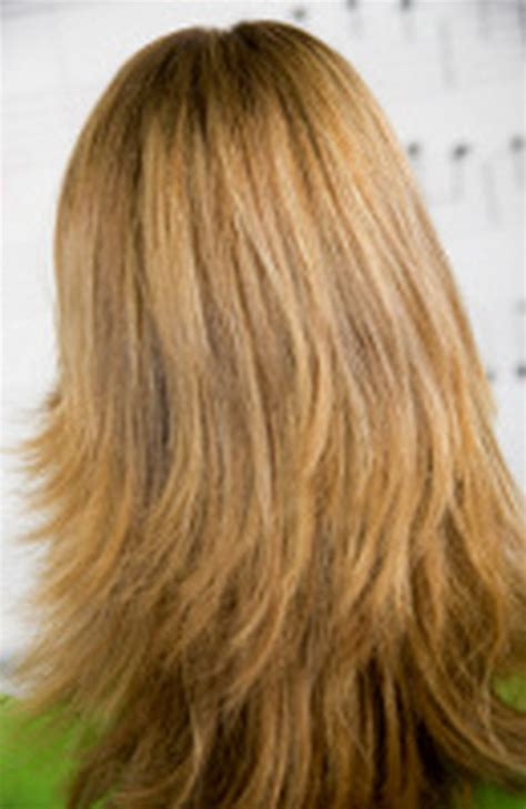 hairstyles feathered layers angled feathered layered haircuts