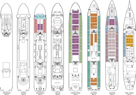 carnival floor plan carnival cruise ships deck plans cruise ship deck plans