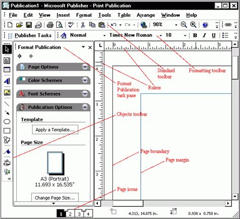 publishing layout view word windows parts of microsoft excel july 2013