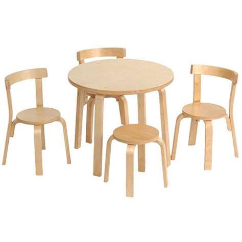Table And Chairs by Play With Me Toddler Table And Chair Set Svan