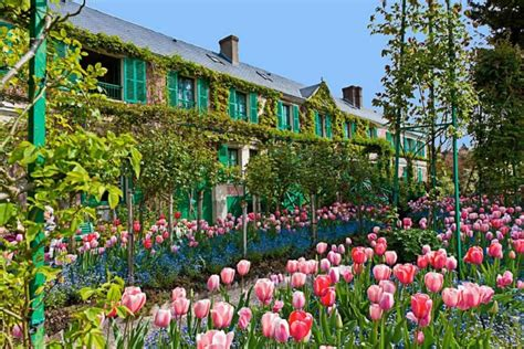 giardino di giverny primavera con monet a giverny easyviaggio