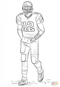 Tom Brady Coloring Pages Tom Brady Coloring Page Free Printable Coloring Pages