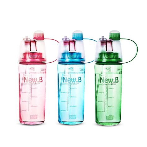 Botol Minum My Bottle Spray 600ml botol minum new b sport spray water bottle 600 ml elevenia