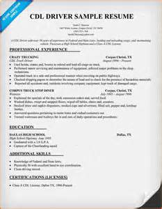 6 truck driver resume sle budget template letter