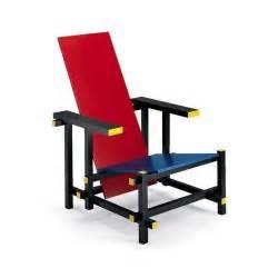rietveld stuhl gerrit rietveld stuhl blue rot blau stuhl klassiker