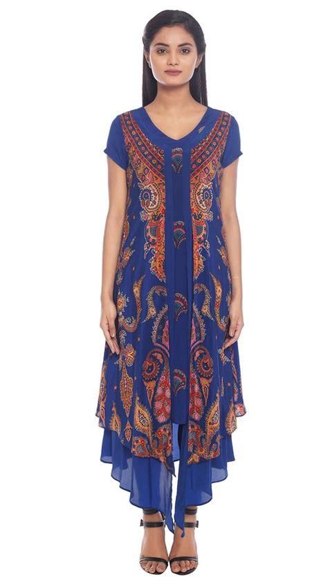 new pattern long kurta ritu kumar latest indian kurtis tunics designs