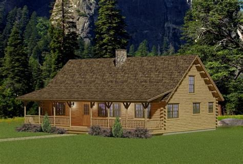 berwick log home floor plan katahdin cedar home