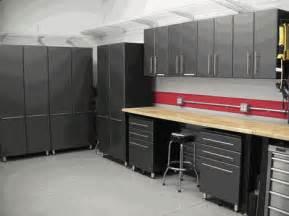 Work Bench Designs Nine Piece Set Of Ultimate Garage Cabinets