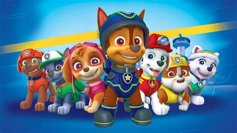 paw patrol desk paw patrol dogs hd wallpaper background image