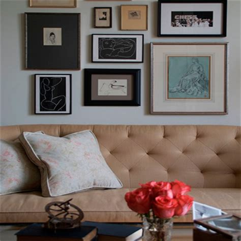 Fireplace Seating by Art Over Sofa Design Ideas