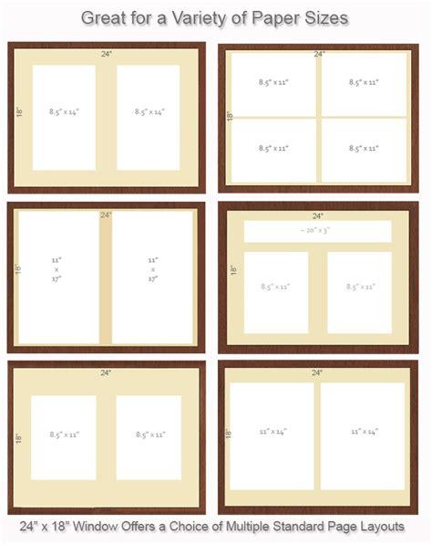 layout for bulletin board directory display stand 24 x 18 bulletin board