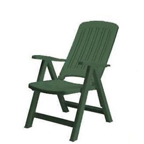 sedie a sdraio da giardino sdraio poltrona da giardino in resina plastica sedia verde