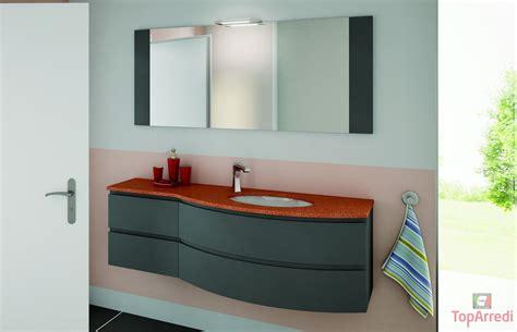 lavello con mobiletto bagno moderno sospeso aron