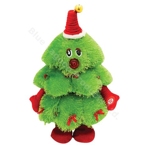 35cm musical dancing christmas tree animated singing tree
