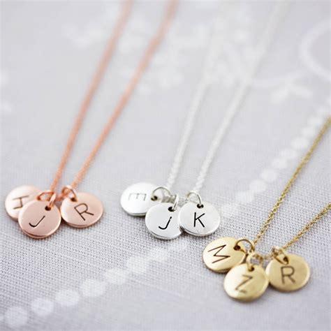 Letter Necklace