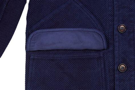 Blue Japan Blue Blue Japan Dyed Indigo Sashiko Jacket