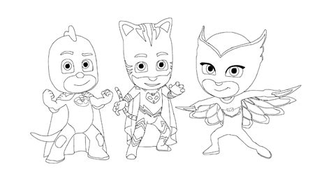 pj masks characters coloring pages pj masks coloring pages coloring home