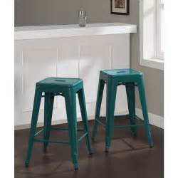 Tabouret 24 Inch Bar Stools Tabouret 24 Inch Peacock Counter Stools Set Of 2