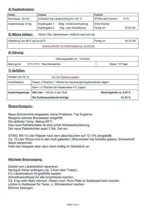Protokoll Schreiben Muster Uni Forum Zeigt Mir Eure Brauprotokolle
