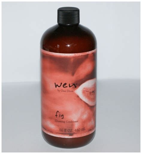 Wen Hair Types by Wen Fig Cleansing Conditioner Review In A