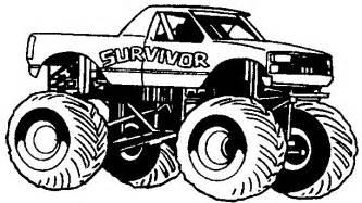 coloriage monster truck les beaux dessins de transport 224